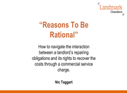 Nic Taggart Reasons to be Rational Presentation.pdf